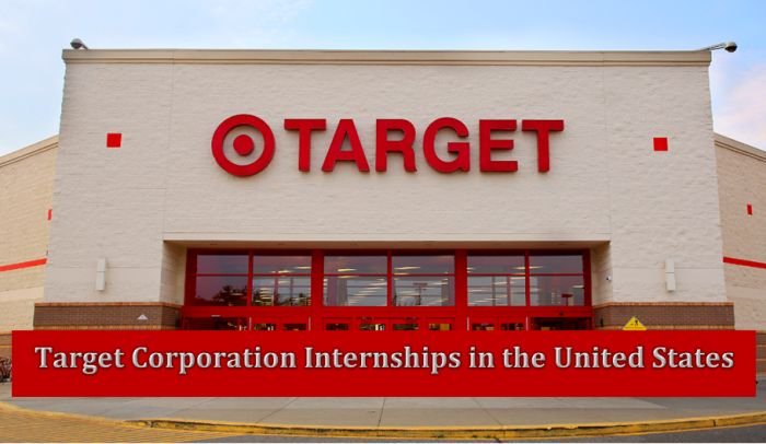 Target Corporation Internships in the United States