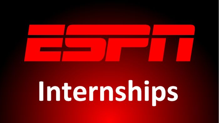 ESPN Internships for Junior to Graduate Level Students