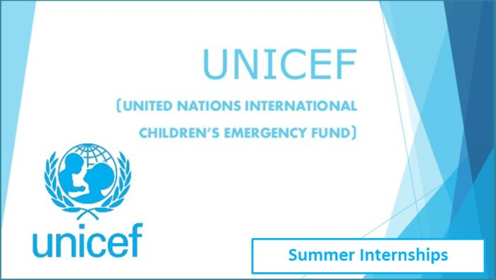 UNICEF Internships for College and University Students