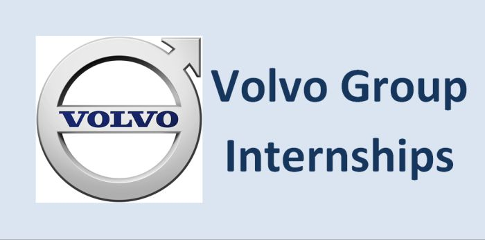 Volvo Group Internships for Students