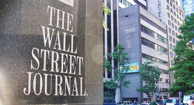 Wall Street Journal Paid Internships, 2019