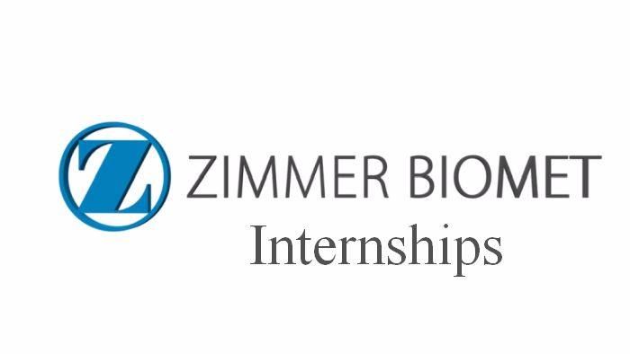 Zimmer Biomet Full-time Internships 2019