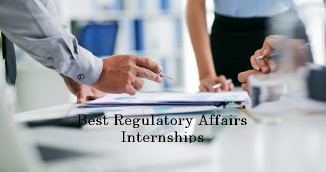Regulatory Affairs Internships 2019