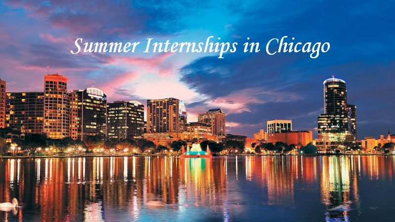 Summer Internships in Chicago, 2019