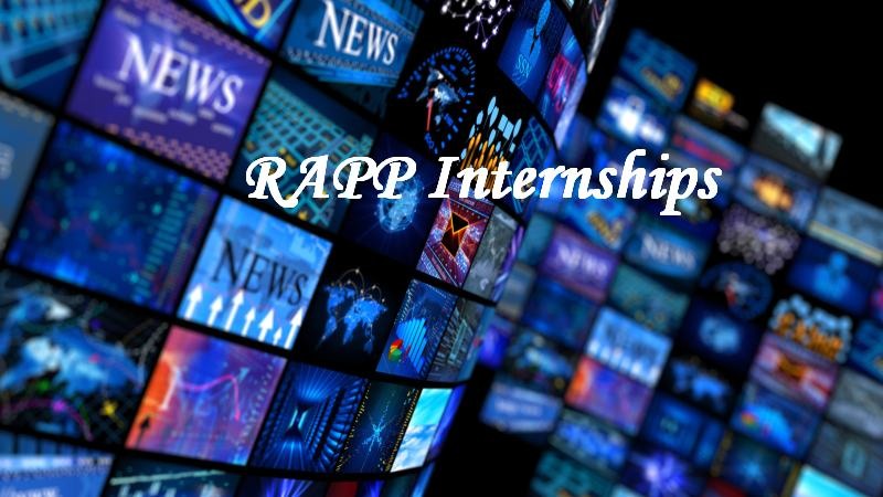RAPP 10 weeks long Internships