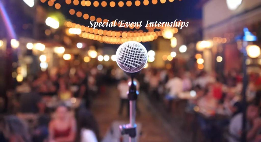 Special Events Internships