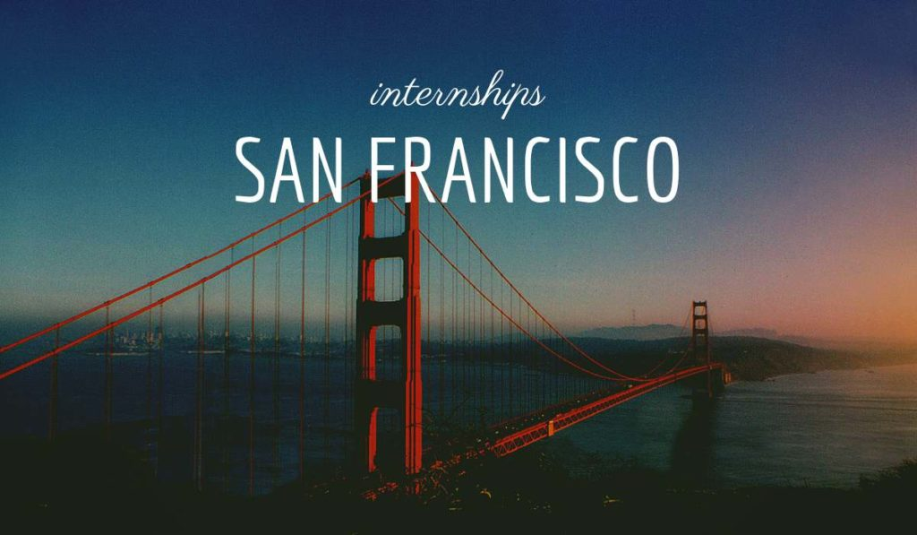 San Francisco Summer Internships