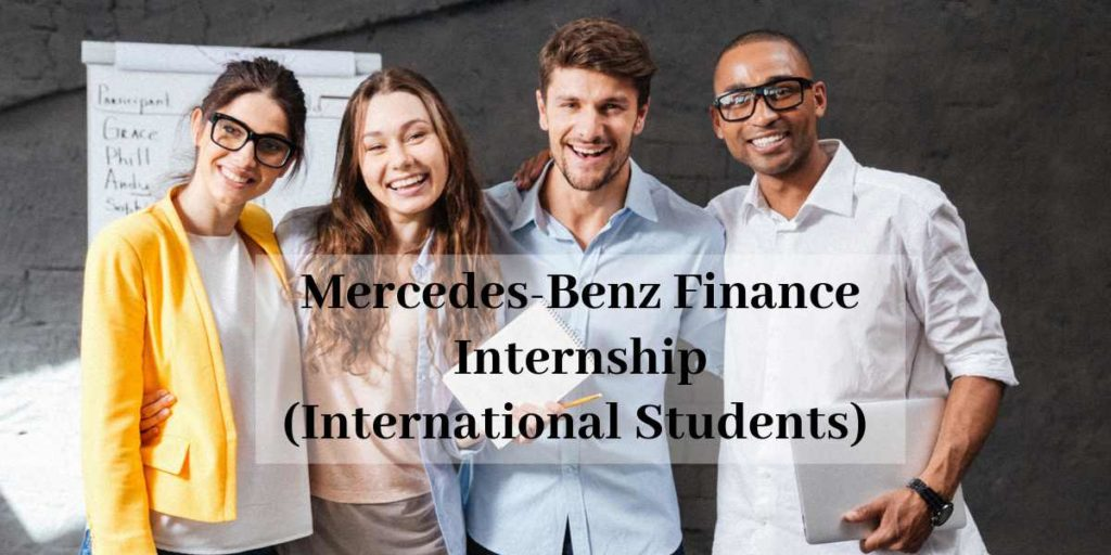 Mercedes-Benz International Internship in Finance (3 Positions)