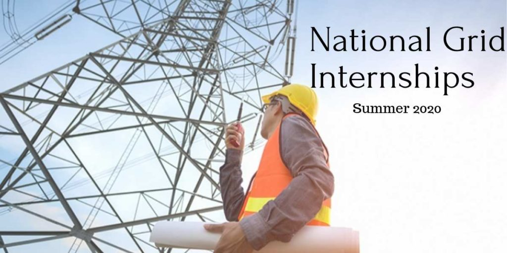 National Grid Summer Internships 2020