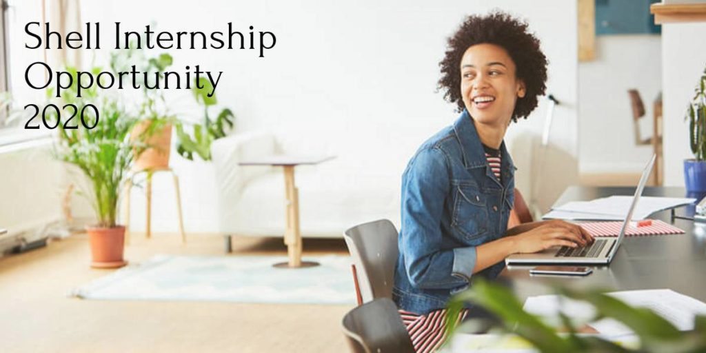 Shell Internship Opportunity 2020