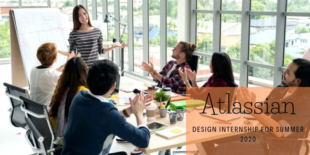 Atlassian Design Internship for Summer 2020