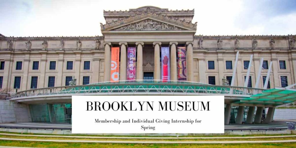 Brooklyn Museum Membership and Individual Giving Internship for Spring