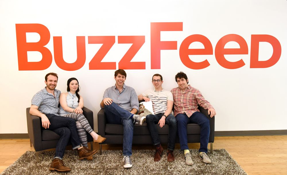 BuzzFeed Software Engineering Internship for Summer
