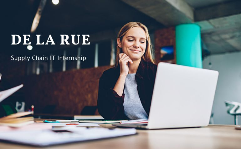 De La Rue Supply Chain IT Internship