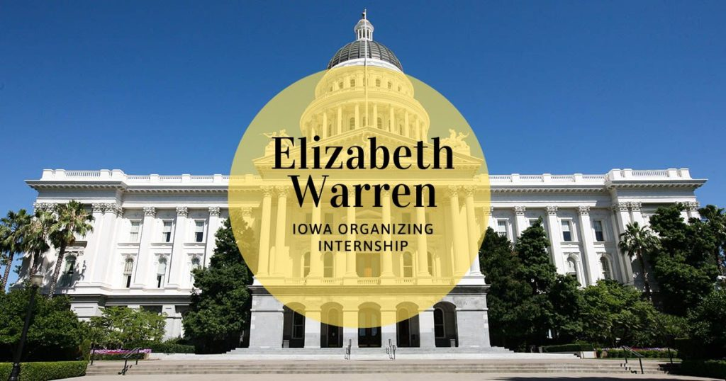 Elizabeth Warren Iowa Organizing Internship