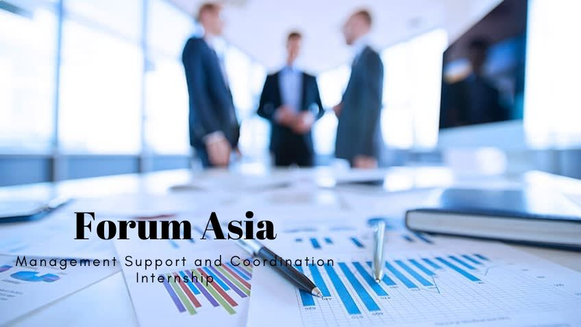 Forum Asia Management Support and Coordination Internship
