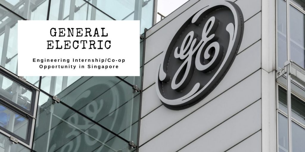 General Electric Engineering Internship