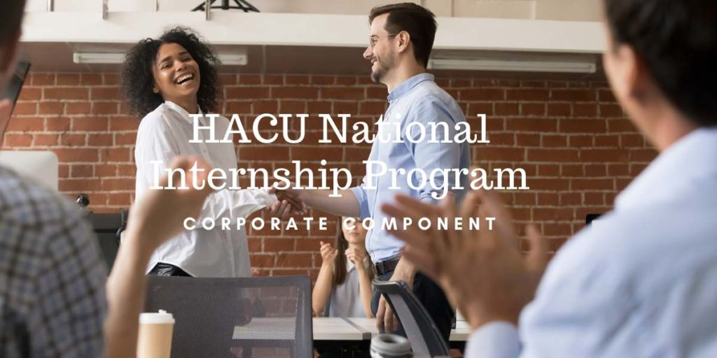 HACU National Internship Program - Corporate Component