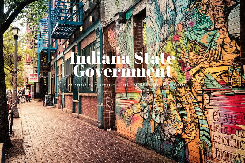 Indiana State Government Governor's Summer Internship in Finance