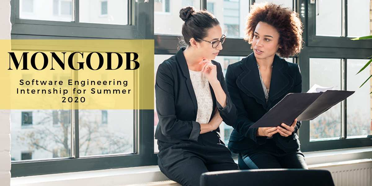 Computer Internships Summer 2020.Mongodb Software Engineering Internship For Summer 2020