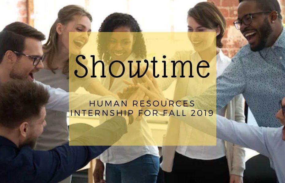 Show Time HR Internship