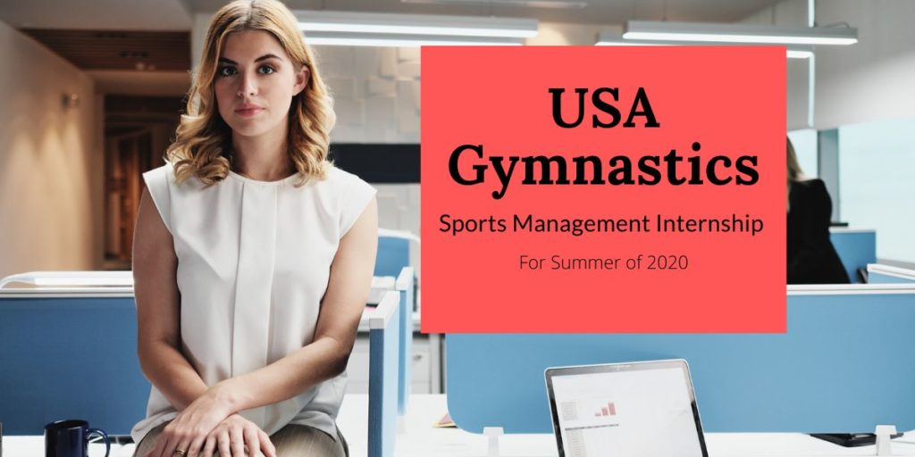 USA Gymnastics Sports Management Internship for Summer