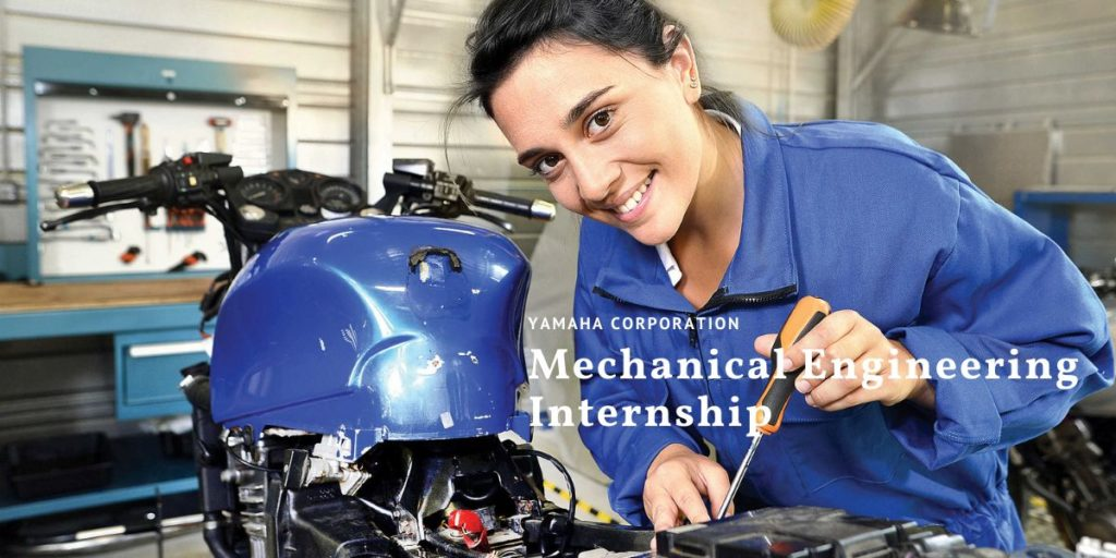 Yamaha Corporation Mechanical Engineering Internship