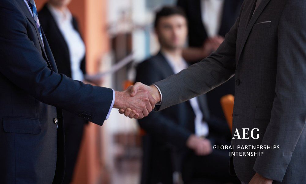AEG Global Partnerships Internship