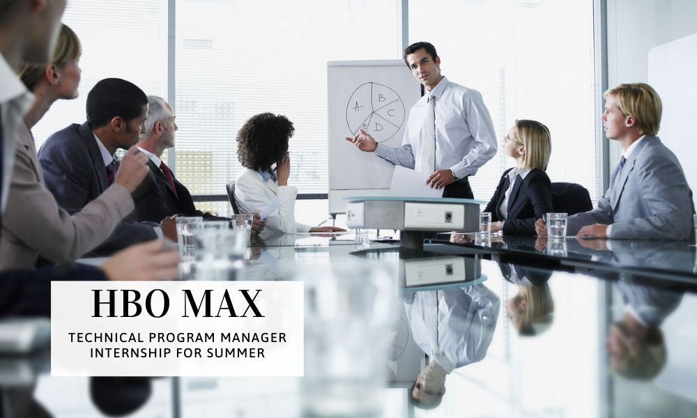 HBO Max Technical Program Manager Internship for Summer