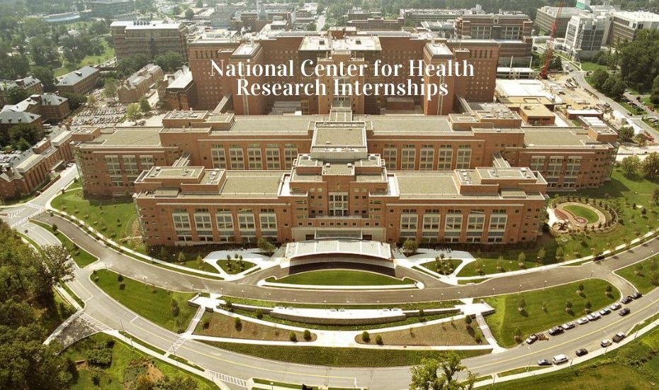 National Center for Health Research Internship