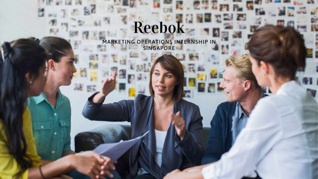 Reebok Marketing Operations Internship in Singapore